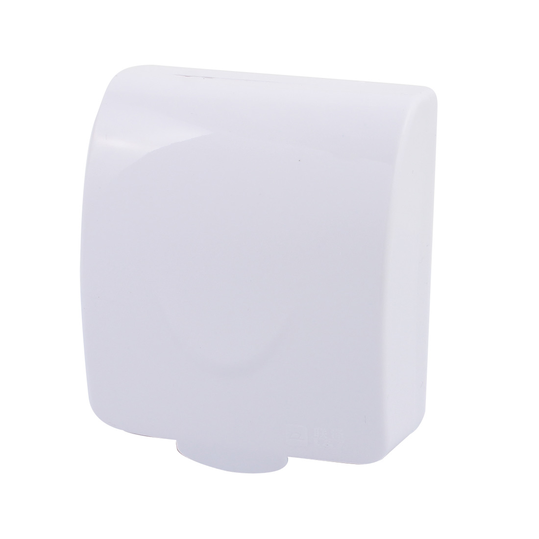 White Plastic Thickened Water Resistant Rocker Switch Socket Protect Cover Cap