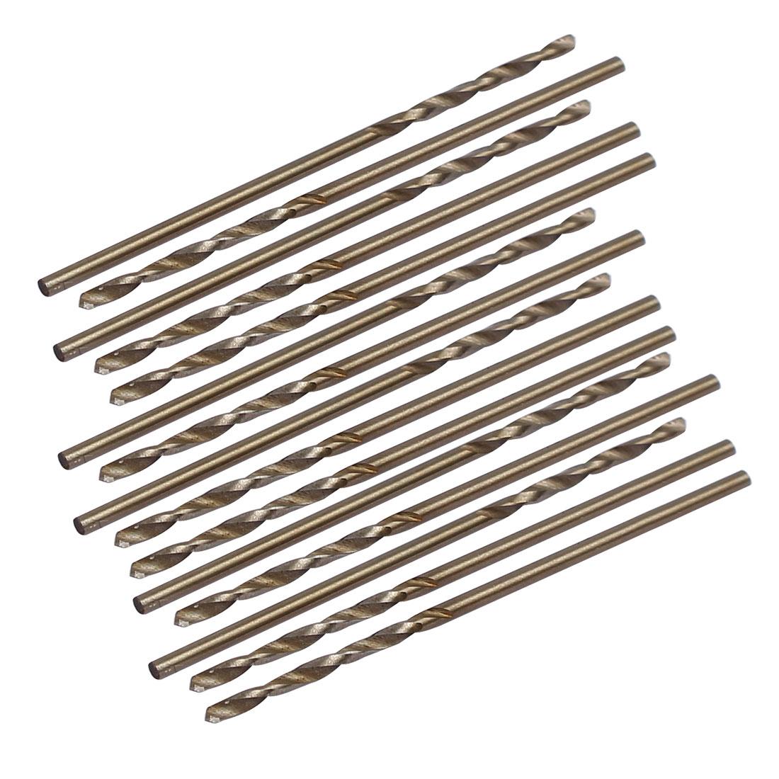 1.2mm Dia Split Point HSS Cobalt Metric Twist Drill Bit Drilling Tool 15pcs