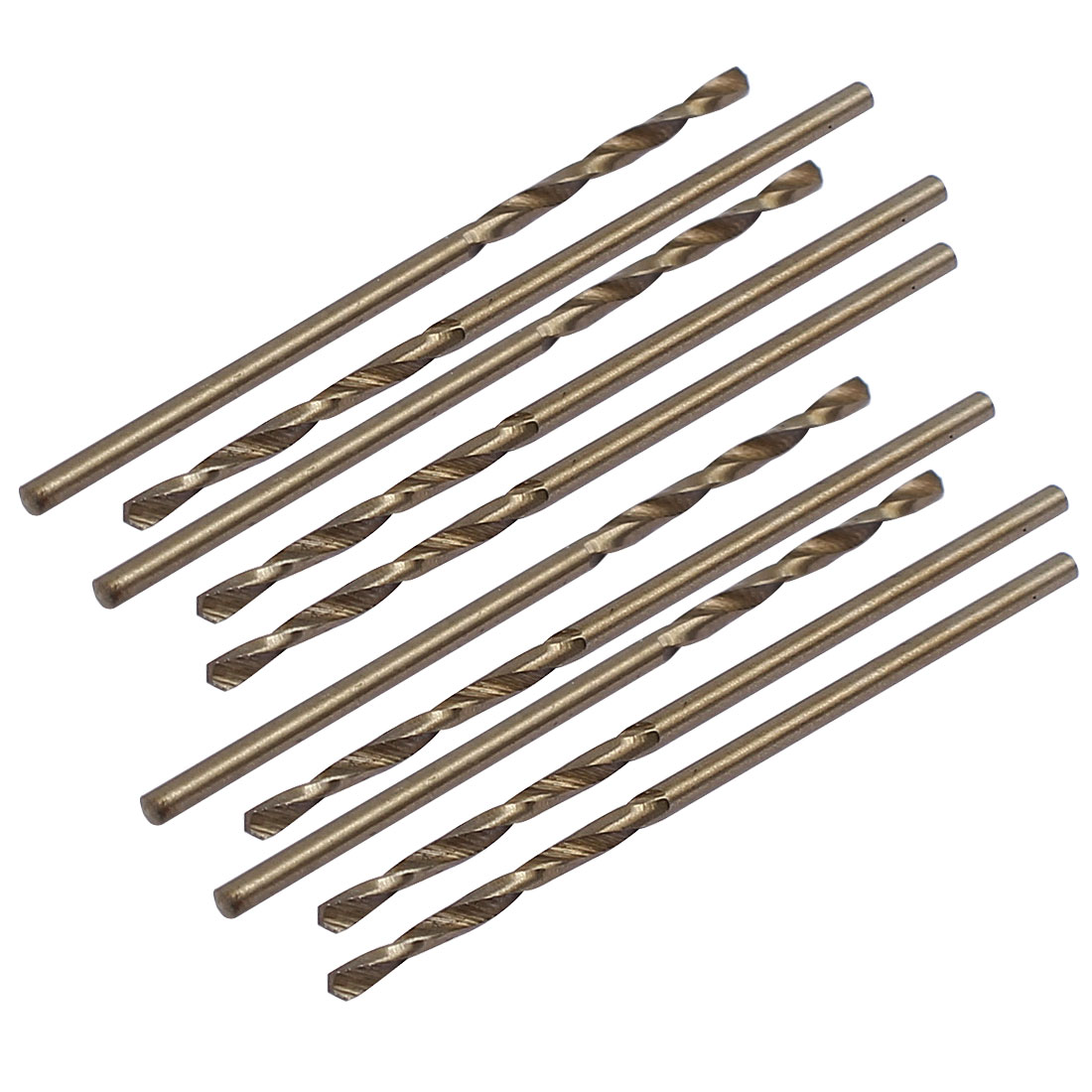 1.4mm Dia Split Point HSS Cobalt Metric Twist Drill Bit Drilling Tool 10pcs