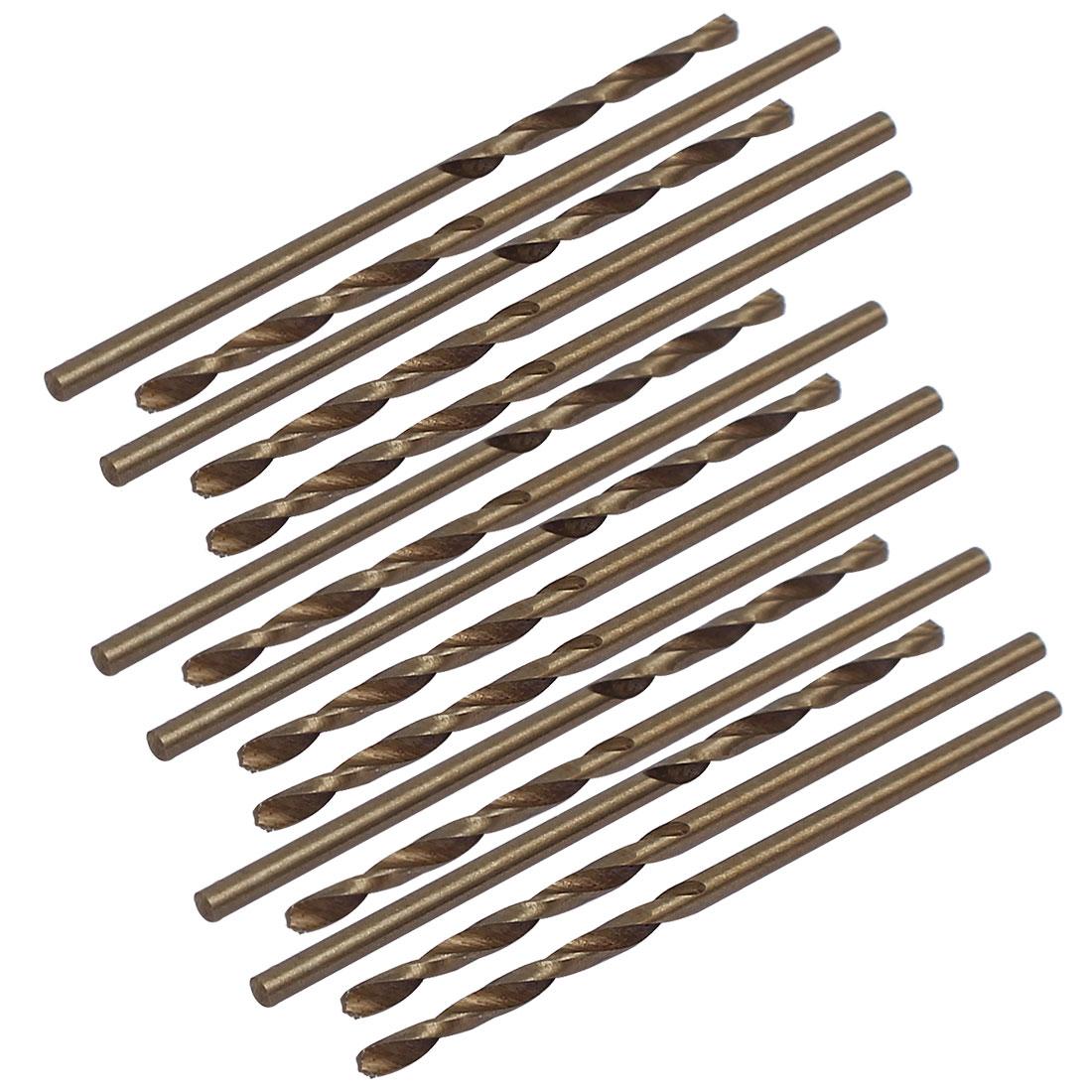 1.5mm Dia Split Point HSS Cobalt Metric Twist Drill Bit Drilling Tool 15pcs