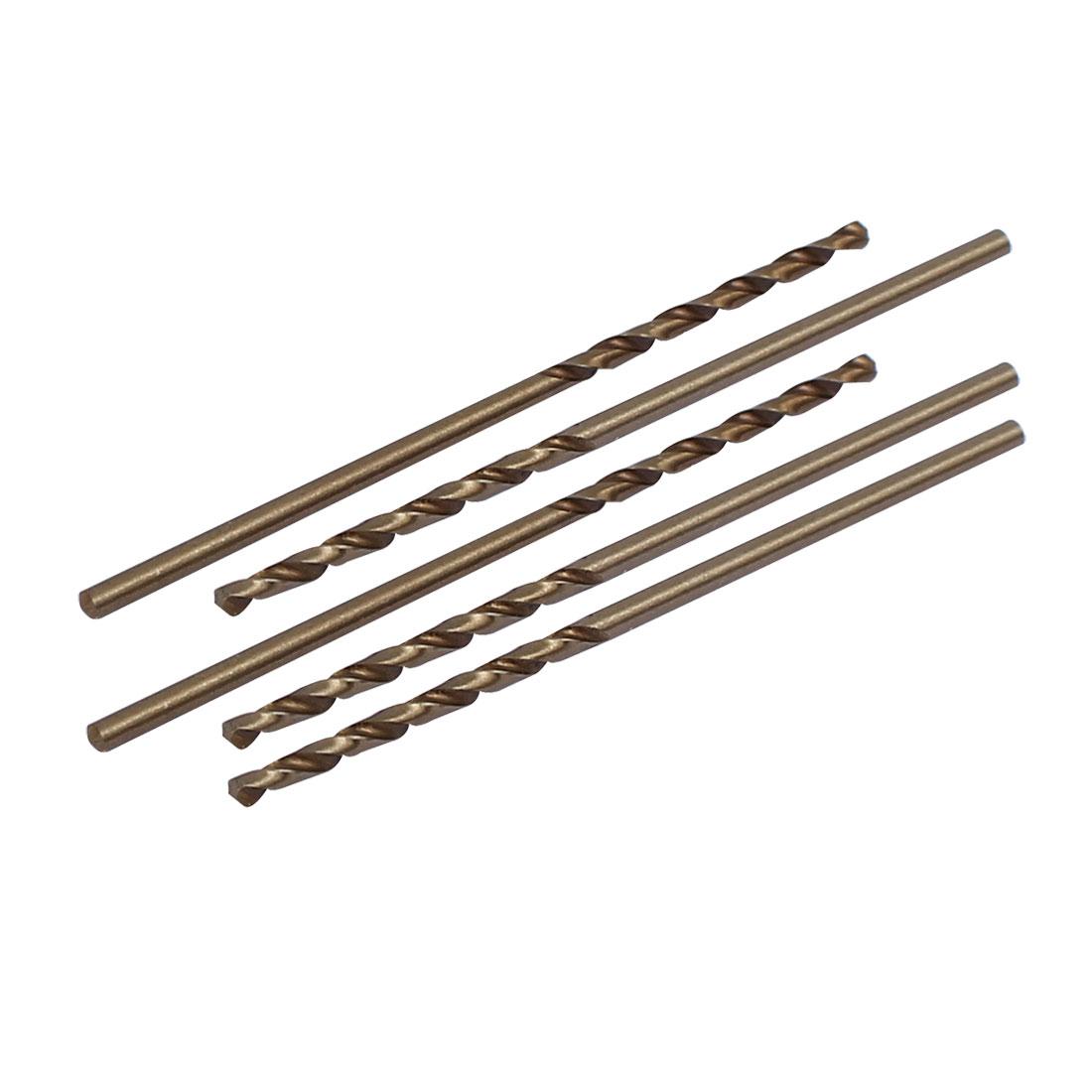 1.6mm Dia Split Point HSS Cobalt Metric Twist Drill Bit Drilling Tool 5pcs