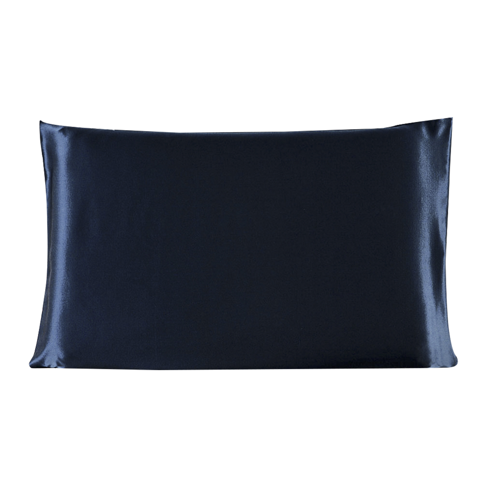 100% Mulberry Silk Fabric Pillow Case Cover Royal Blue /Travel Size