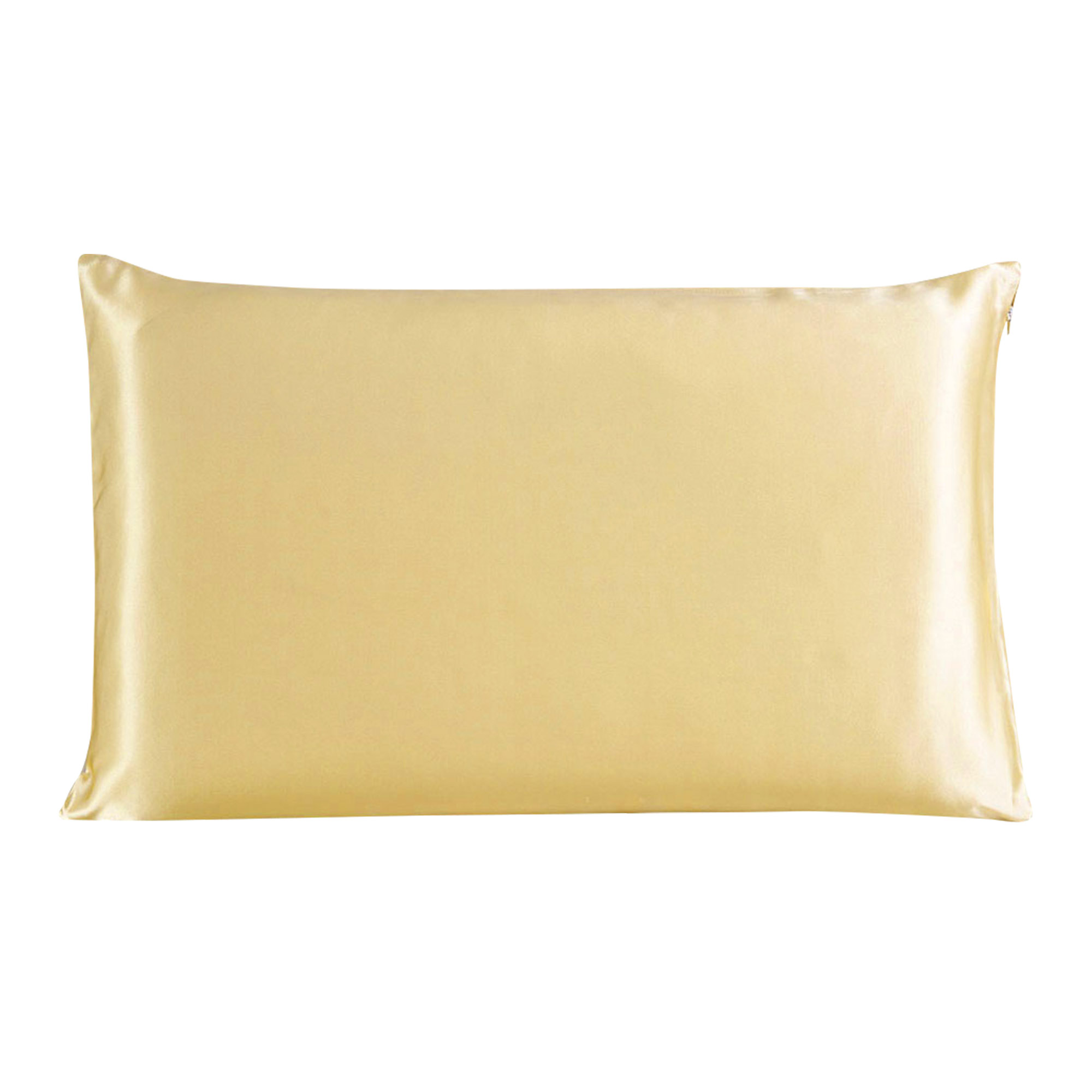 100% Mulberry Silk Fabric Pillow Case Cover Pillowcase Champagne King Size