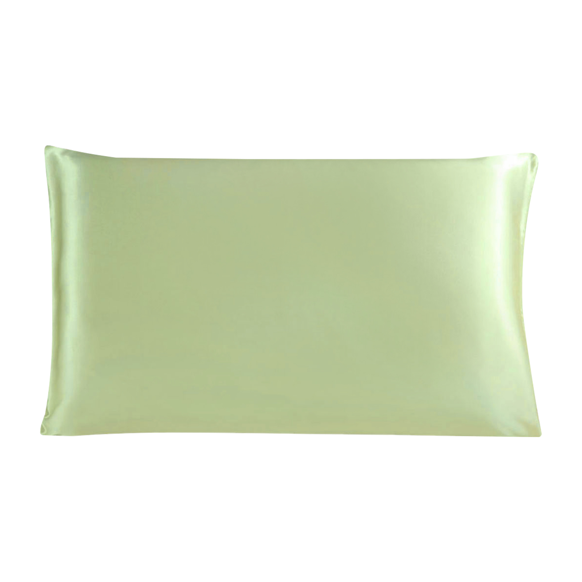 100% Mulberry Silk Fabric Pillow Case Cover Pillowcase Fruit Green King Size