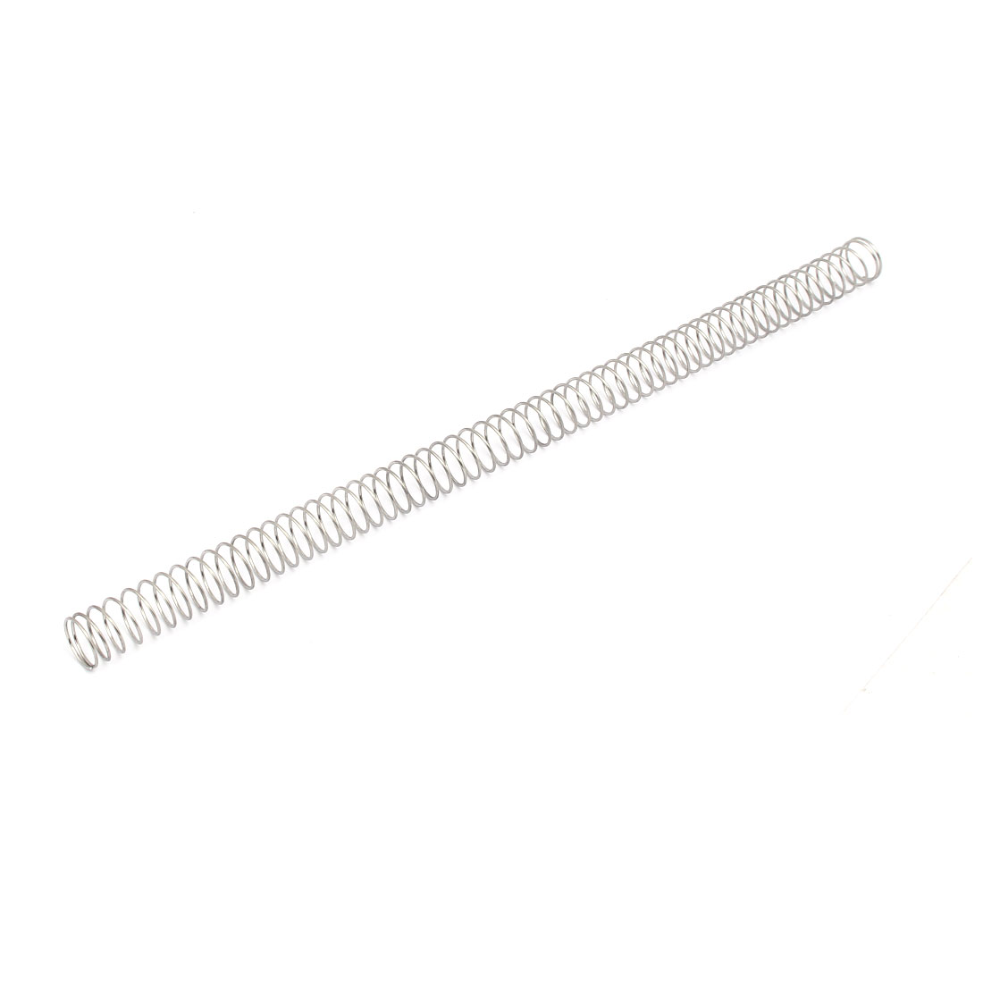 1mmx16mmx305mm 304 Stainless Steel Compression Spring Silver Tone