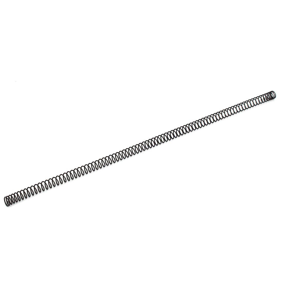0.8mmx8mmx305mm Manganese Steel Compression Spring Black