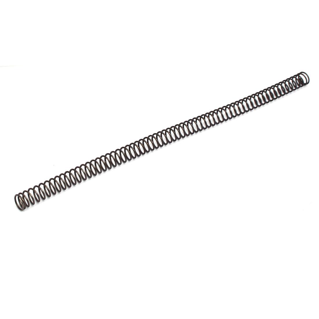 1.4mmx13mmx305mm Manganese Steel Compression Spring Black