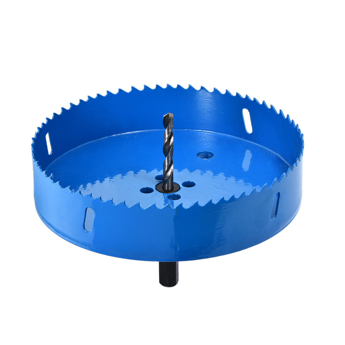 6 5/16 Inch Bi-Metal Hole Saw for Cornhole Boards Corn Hole Drilling Cutter Blue