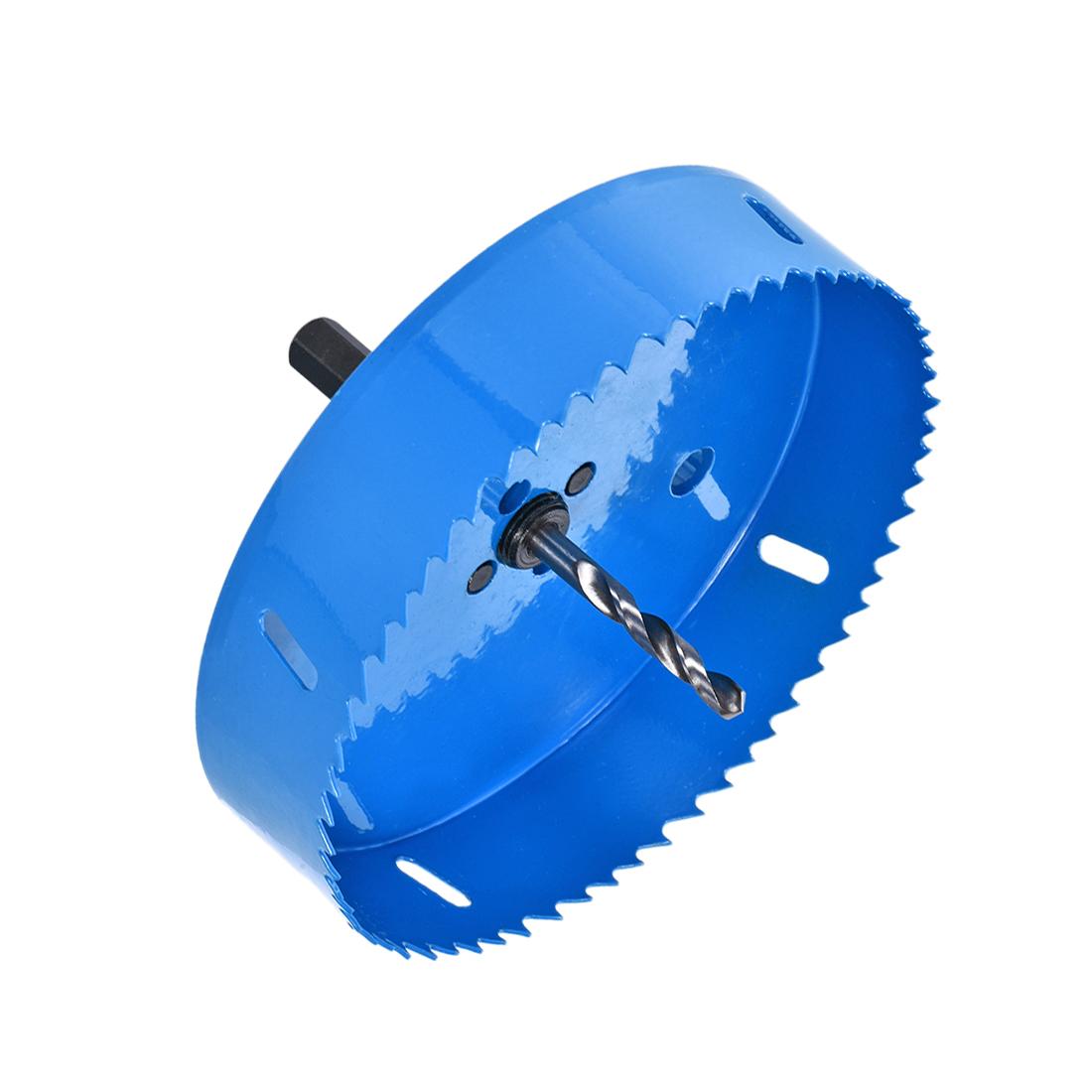5 29/32 Inch Bi-Metal Hole Saw for Cornhole Boards Corn Hole Drilling Cutter
