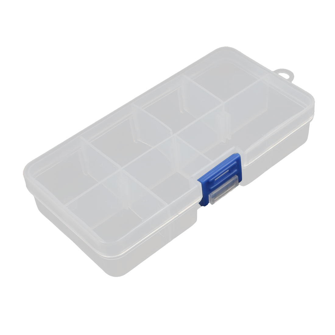 Plastic 8 Separable Compartments Electronic Components Storage Box Container