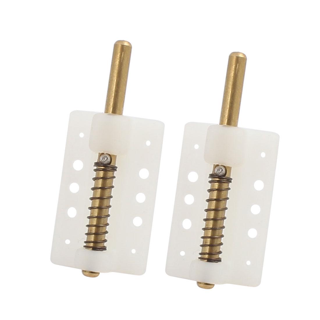 26x16x10mm Plastic Canopy Locks Cover for RC Models Accessory Translucent 2pcs