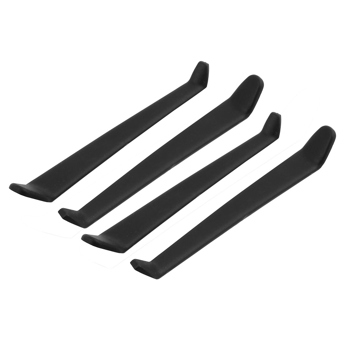 2pairs RC Helicopter Spare Parts Plastic Undercarriage Landing Skid 150mm Length