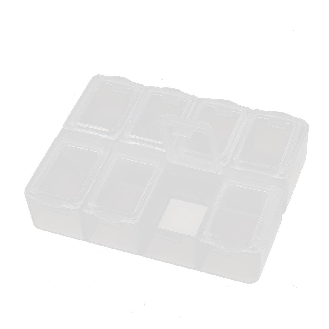 Desktop Tool Part Hardware Plastic Adjustable Storage Sorter Case Box Organizer
