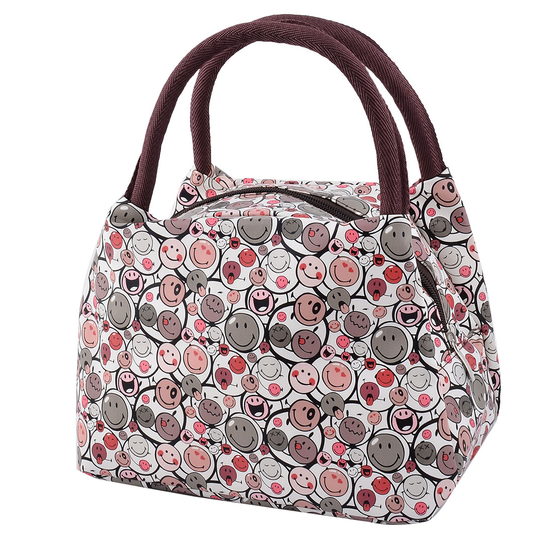 Outdoor Family Oxford Cloth Bee Pattern Lunch Holder Cooler Pouch Handbag Bag