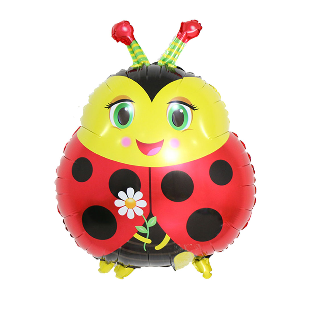 Family Foil Ladybug Design Inflation Balloon DIY Anniversary Celebration Festival Party Decoration 19 Inch
