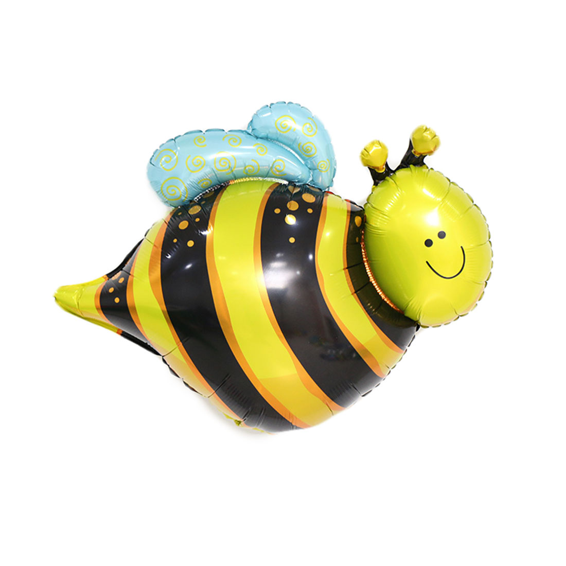 Foil Bee Design Inflation Helium Balloon Birthday Festival Celebration Anniversary Ornament 11 Inch