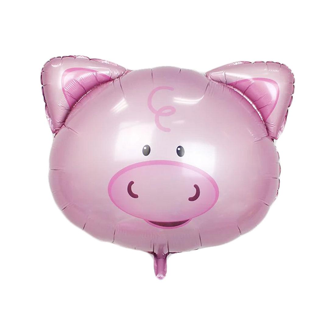 Foil Pig Design Inflation Helium Balloon Birthday Festival Celebration Anniversary Ornament 8 Inch