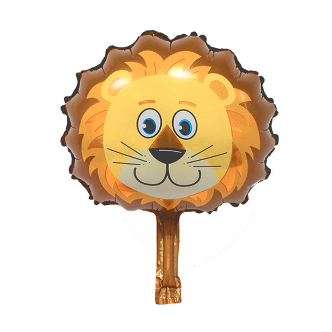 Foil Lion Design Inflation Helium Balloon Birthday Festival Celebration Anniversary Ornament 9 Inch
