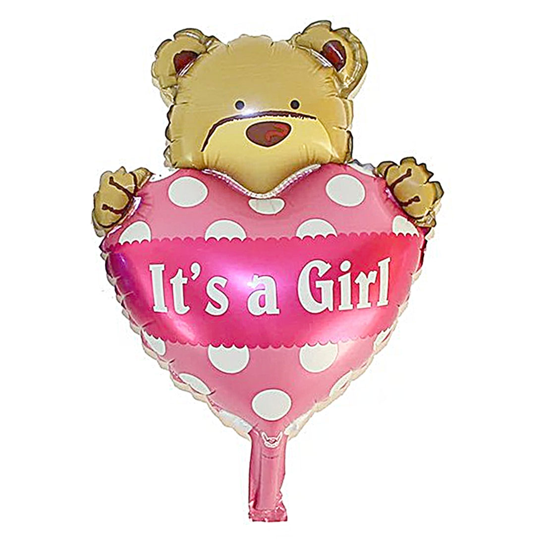 Family Foil Bear Designed Balloon Wedding Party Festival Celebration Decor Pink 11 Inch
