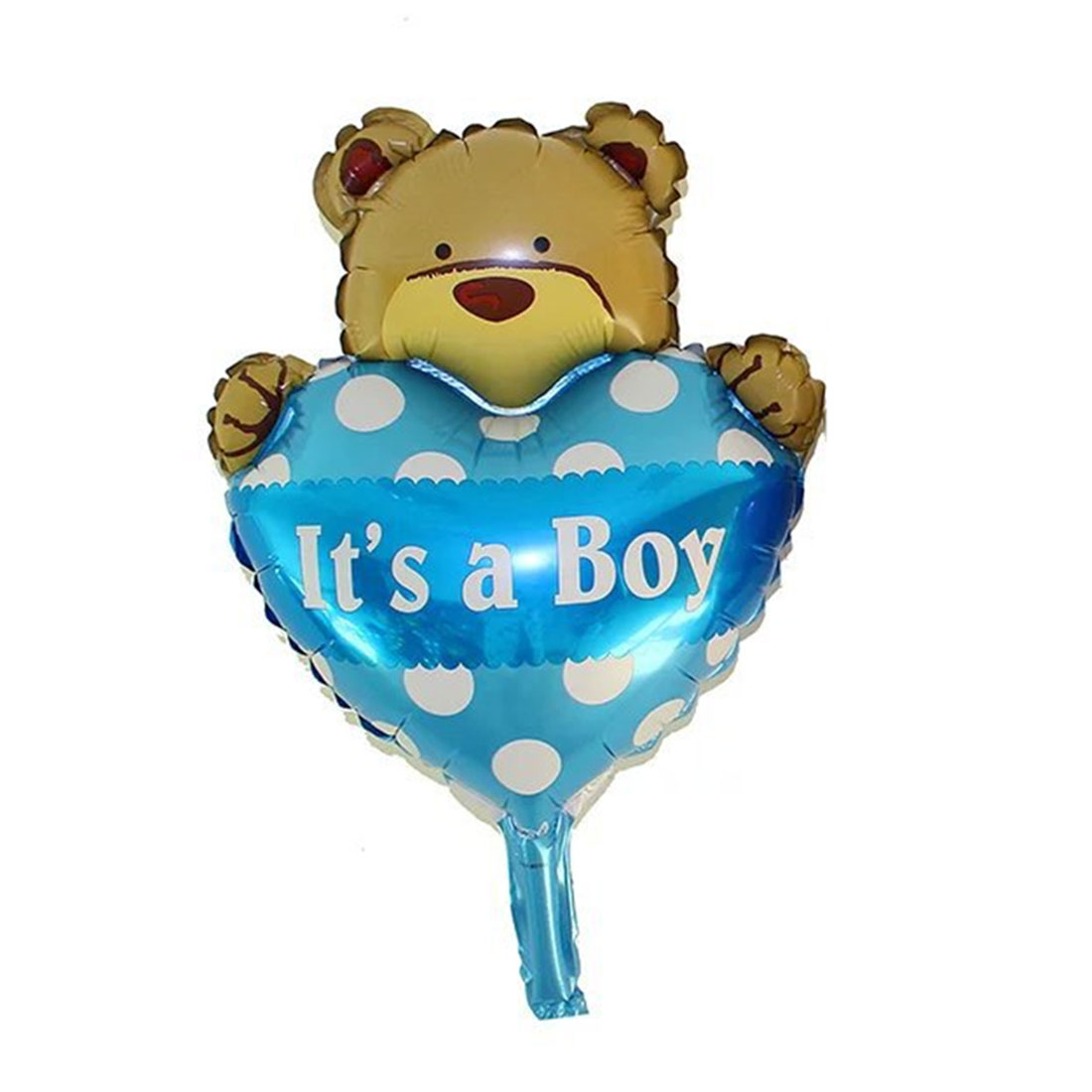 Family Foil Bear Designed Balloon Wedding Party Festival Celebration Decor Blue 11 Inch