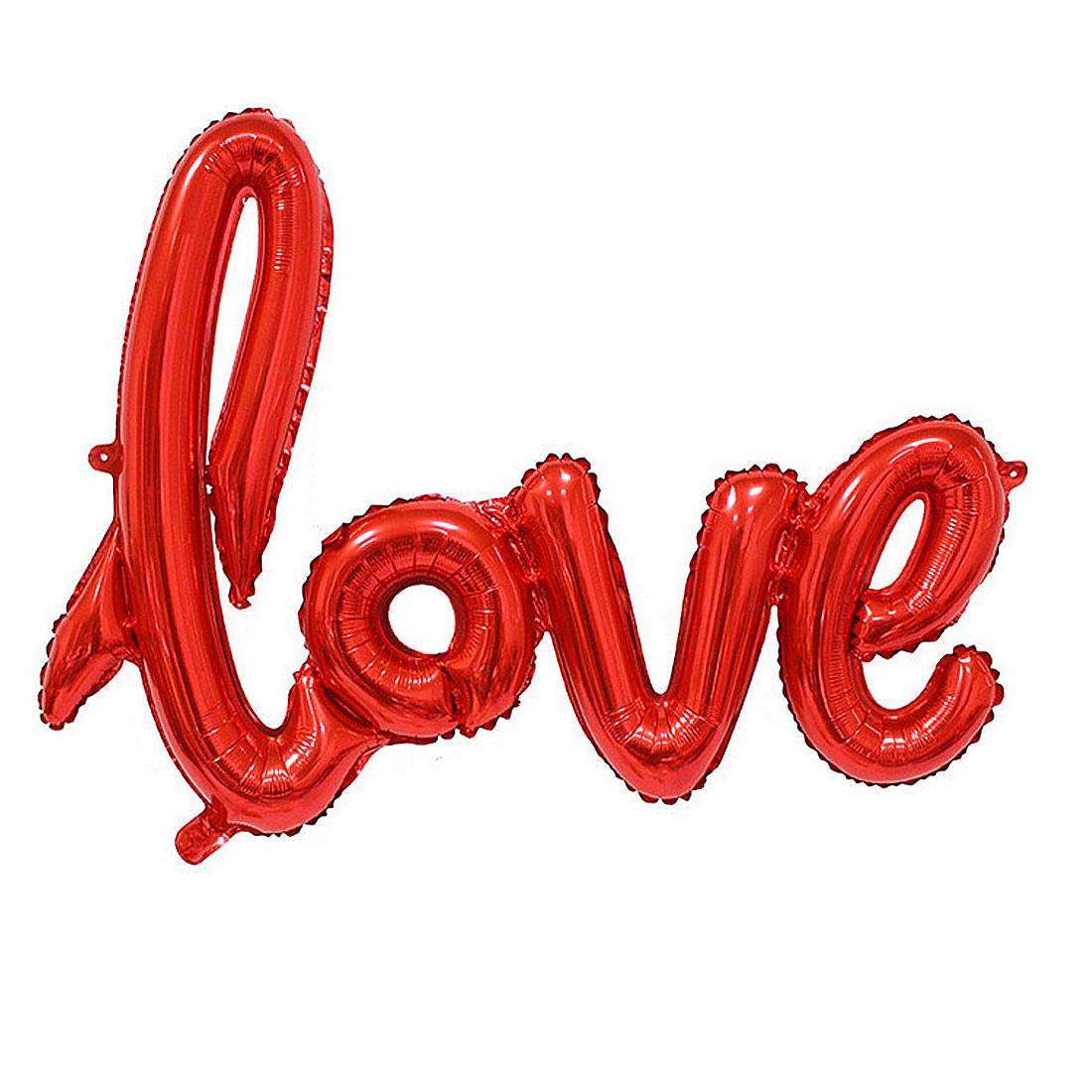 Home Foil LOVE Shaped Inflation Balloon Wedding Party Celebration Decor Red 30 Inch