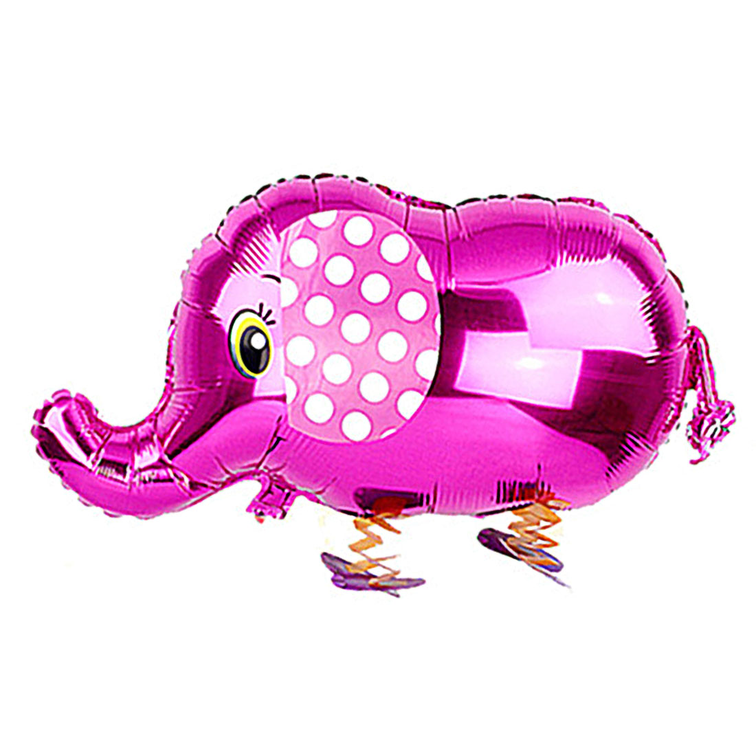 Wedding Ornament Foil Elephant Shape Inflation Helium Balloon Purple 23.6 Inch