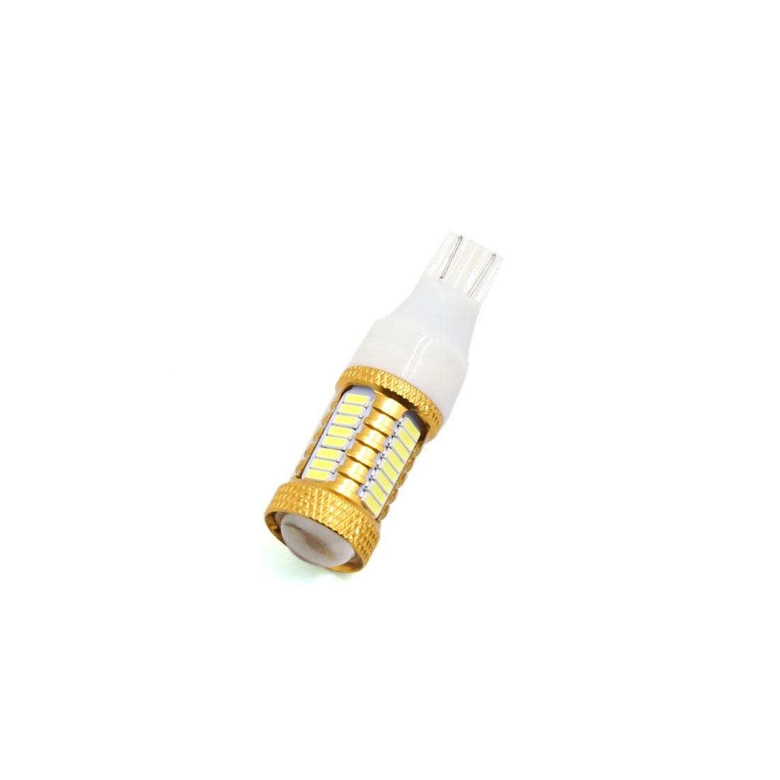 Gold Tone Shell T15 White 40 SMD LED Car Lens Panel Light Interior 194 921 912