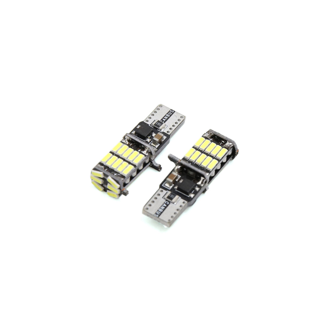 2Pcs T10 Canbus White 26 4010-SMD LED Car Panel Light Interior W5W 2825 158 192 194
