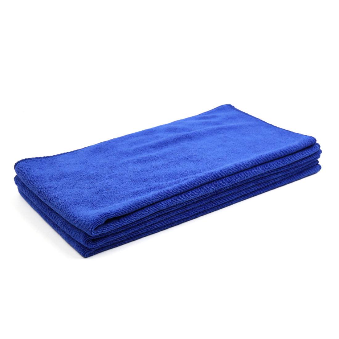 3pcs 400GSM 65cm x 33cm Blue Microfiber Polishing Cleaning Towel for Car Body