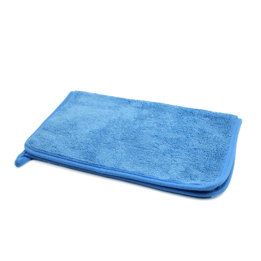 Light Blue Multi-purpose Car Vehicle Body Cleaning Washing Cloth Towel 40cm x 30cm