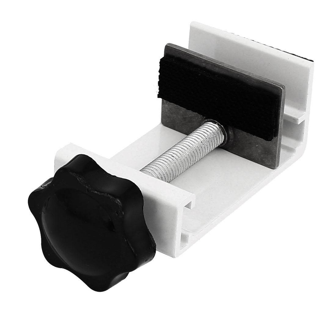 Security Sliding Window Lock Anti-Slip Stopper Window Sash Restrictor White