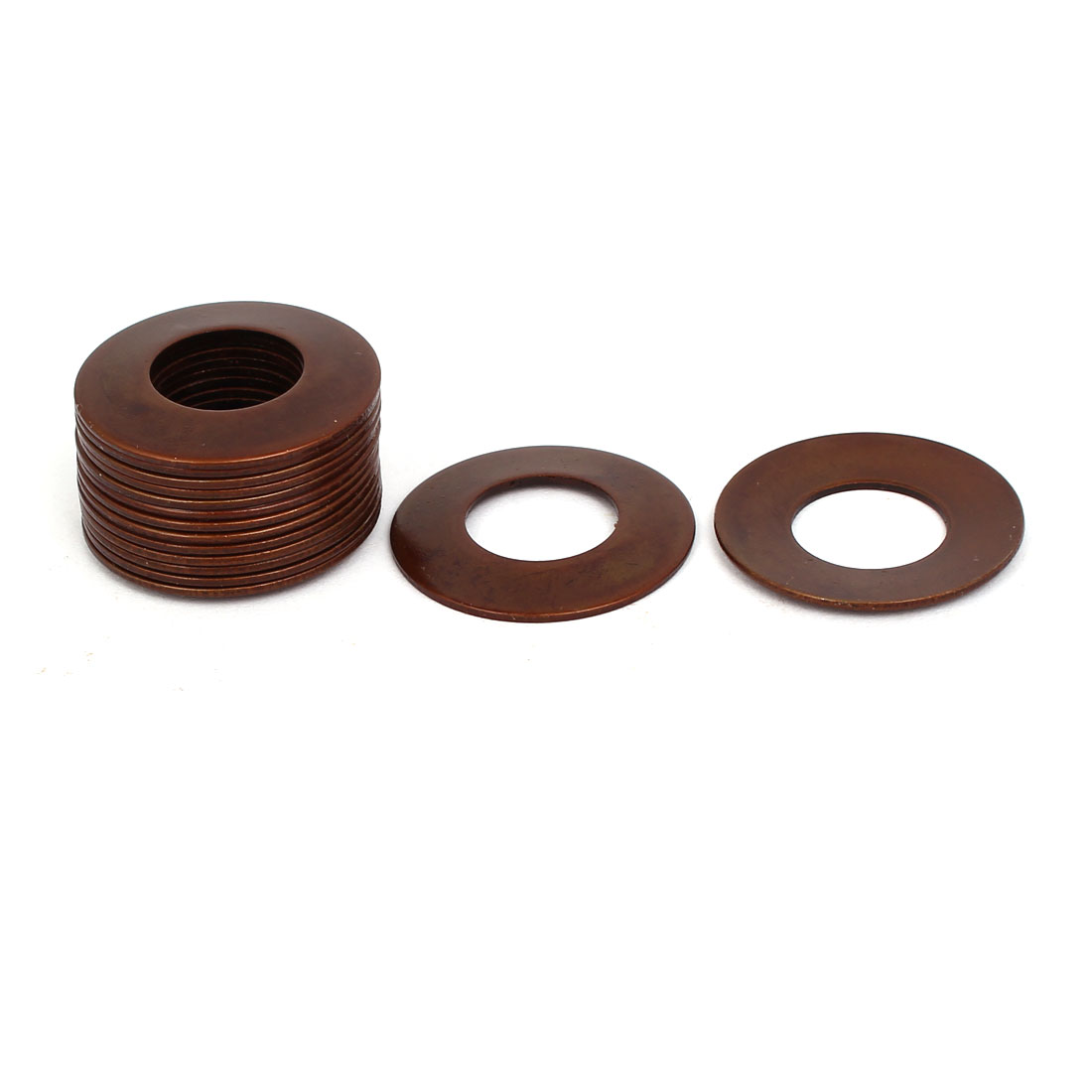 25mm Outer Dia 12.2mm Inner Dia 0.9mm Thickness Belleville Spring Washer 15pcs