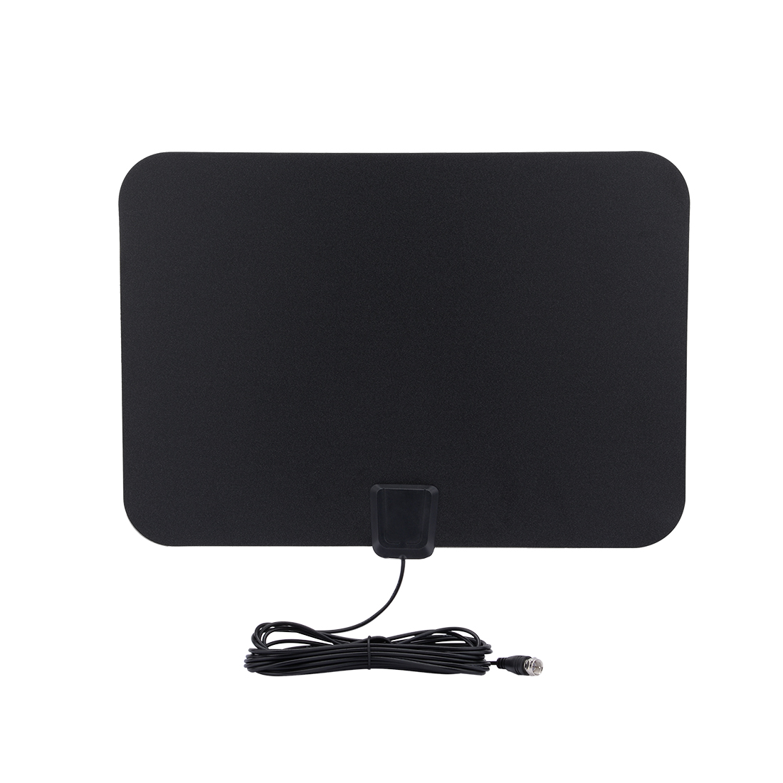 Amplified HDTV Antenna - 50 Mile Range with Detachable Amplifier USB Power Supply and long Coax Cable