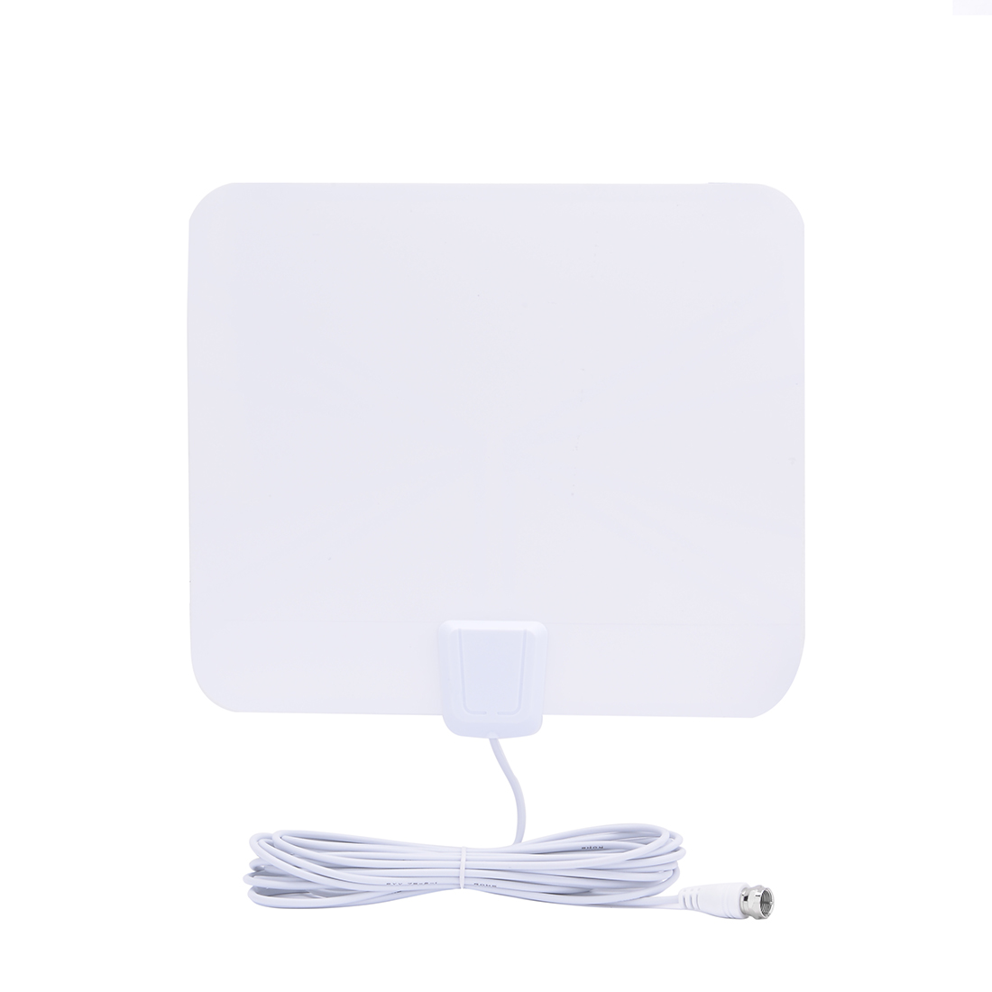 25 Mile Range Indoor Digital HDTV Antenna with 16 FT Long Cable