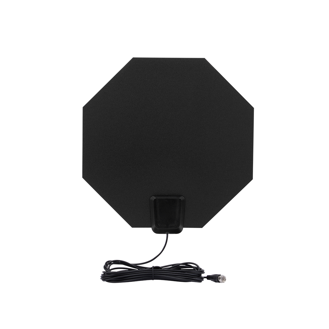 50 Miles Indoor Amplified HDTV Antenna, USB Powered Digital TV Flat Antenna with Detachable Amplifier (UK Plug)