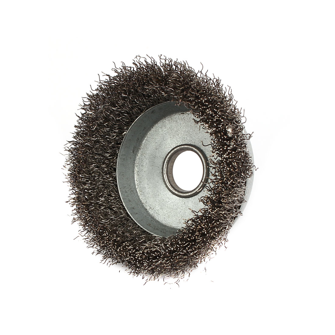 85mm Dia Bowl-Shaped Stainless Steel Wire Polishing Brush Wheel Buffing Tool