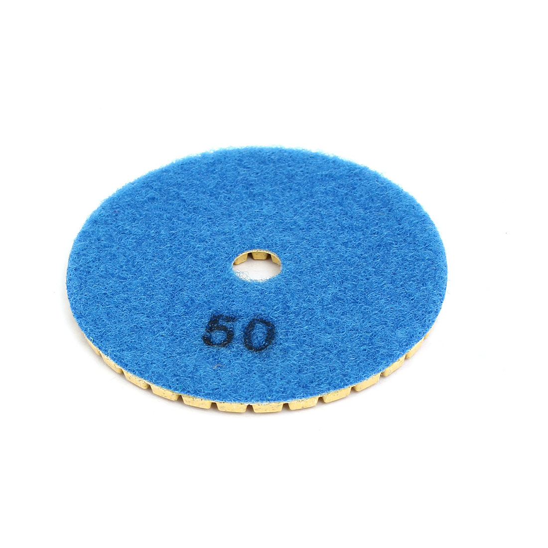 Grit 50 3-inch Diamond Wet Polishing Pad for Granite Concrete Marble