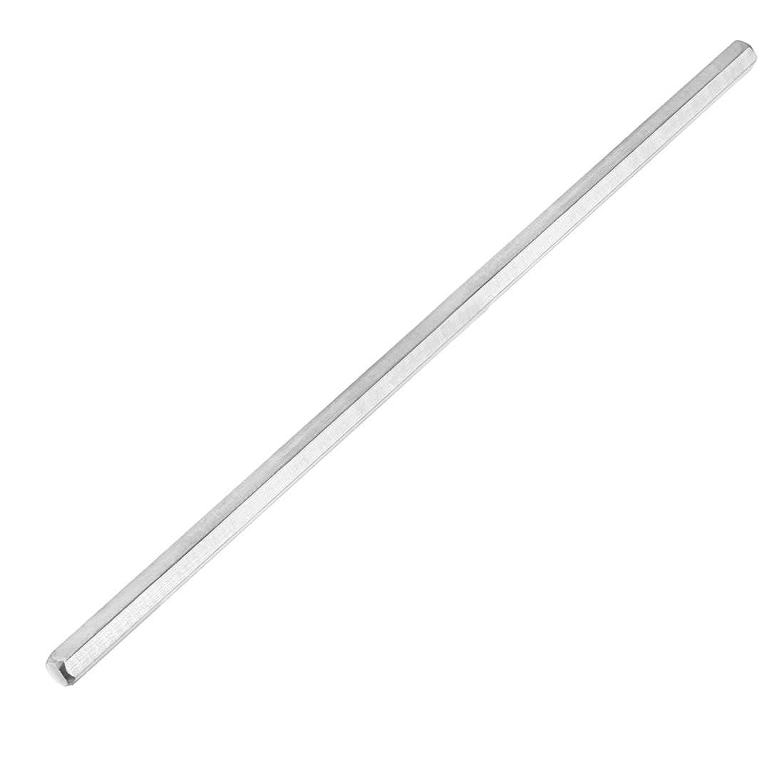 2.7mm Dia 100mm Length 303 Stainless Steel Solid Hex Rod Axle for DIY Toy Car