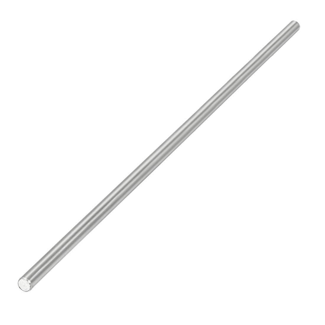 2.5mm Dia 130mm Length Stainless Steel Solid Round Shaft Rod for RC Model Toy