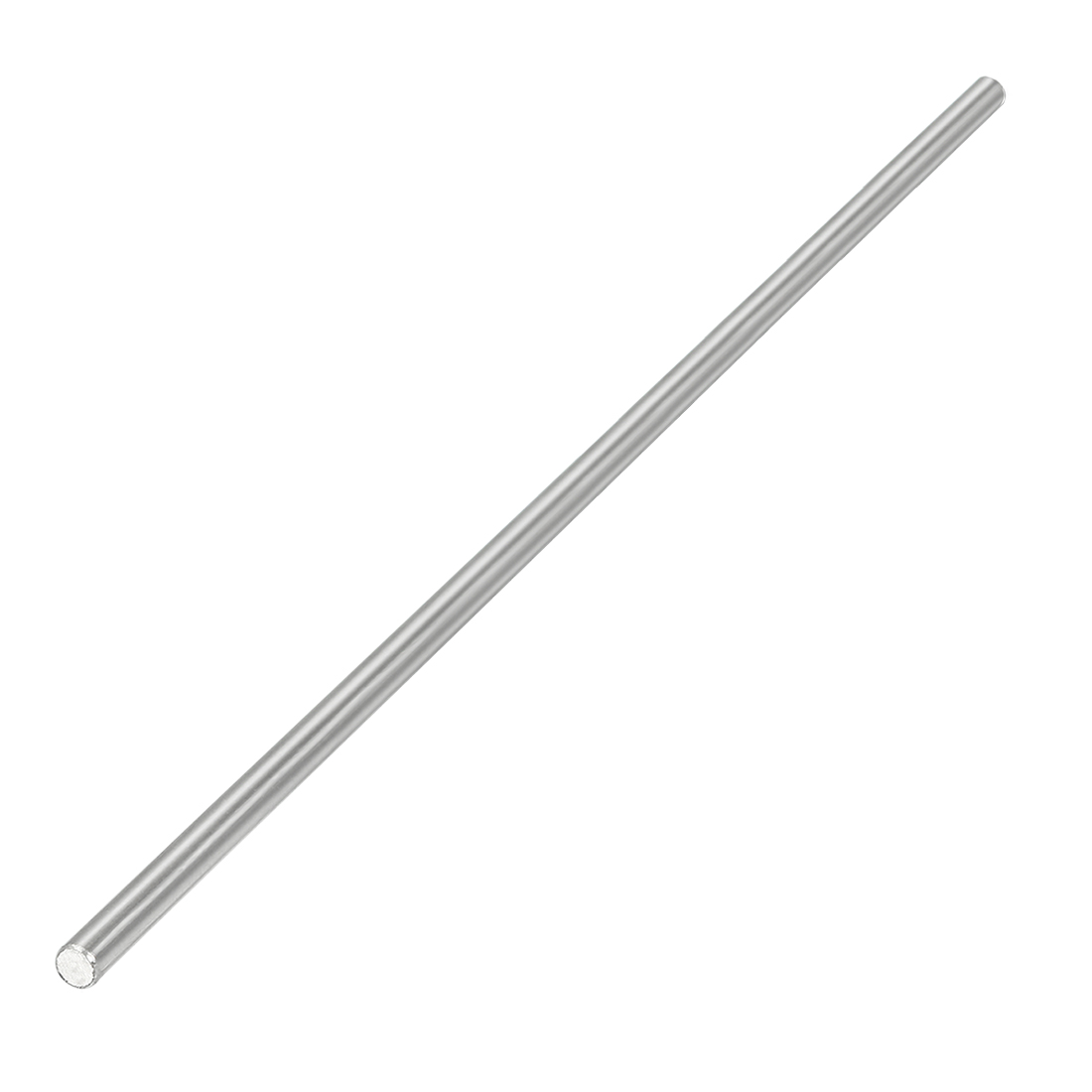 2.5mm Dia 150mm Length Stainless Steel Solid Round Shaft Rod for RC Model Toy