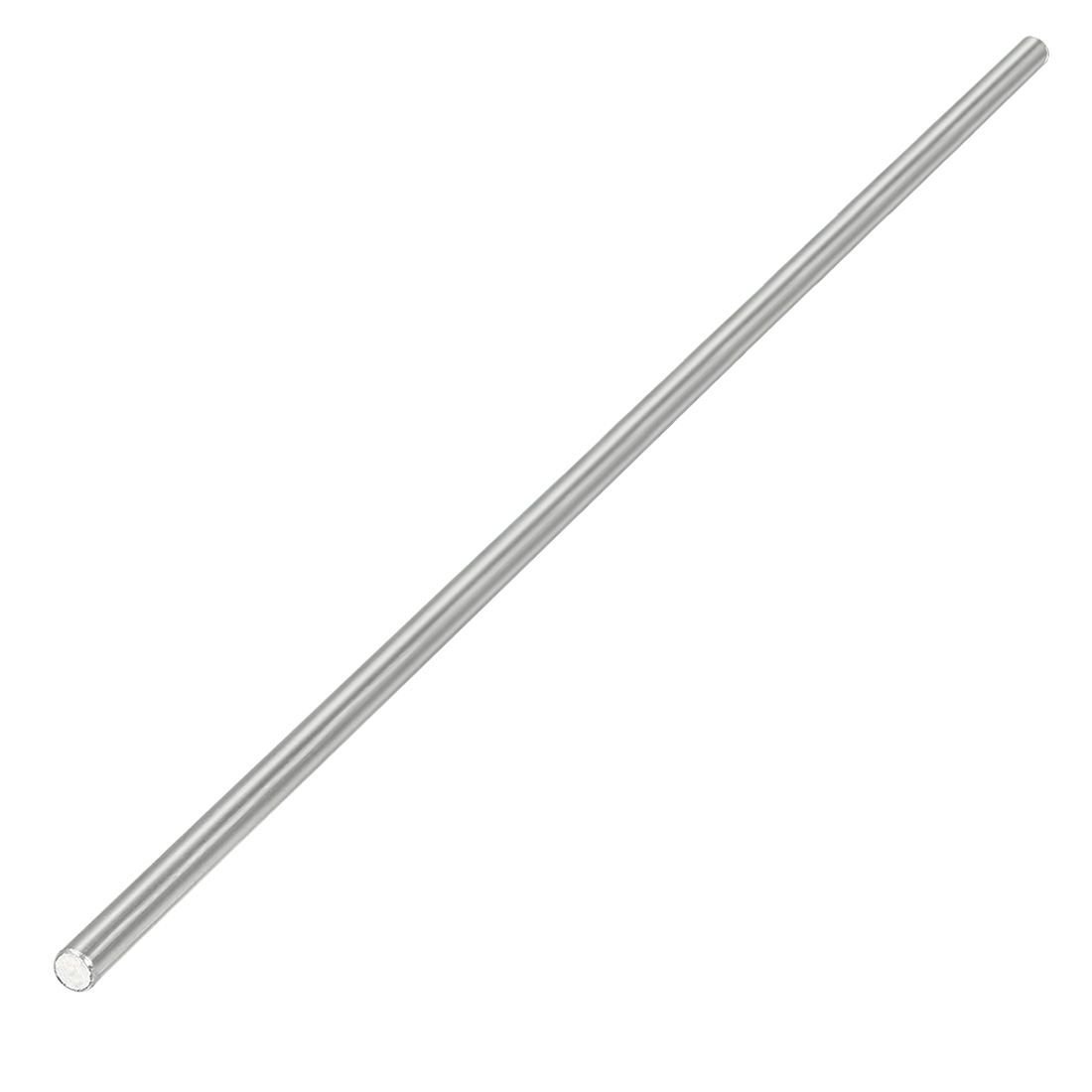 2.5mm Dia 180mm Length Stainless Steel Solid Round Shaft Rod for RC Model Toy