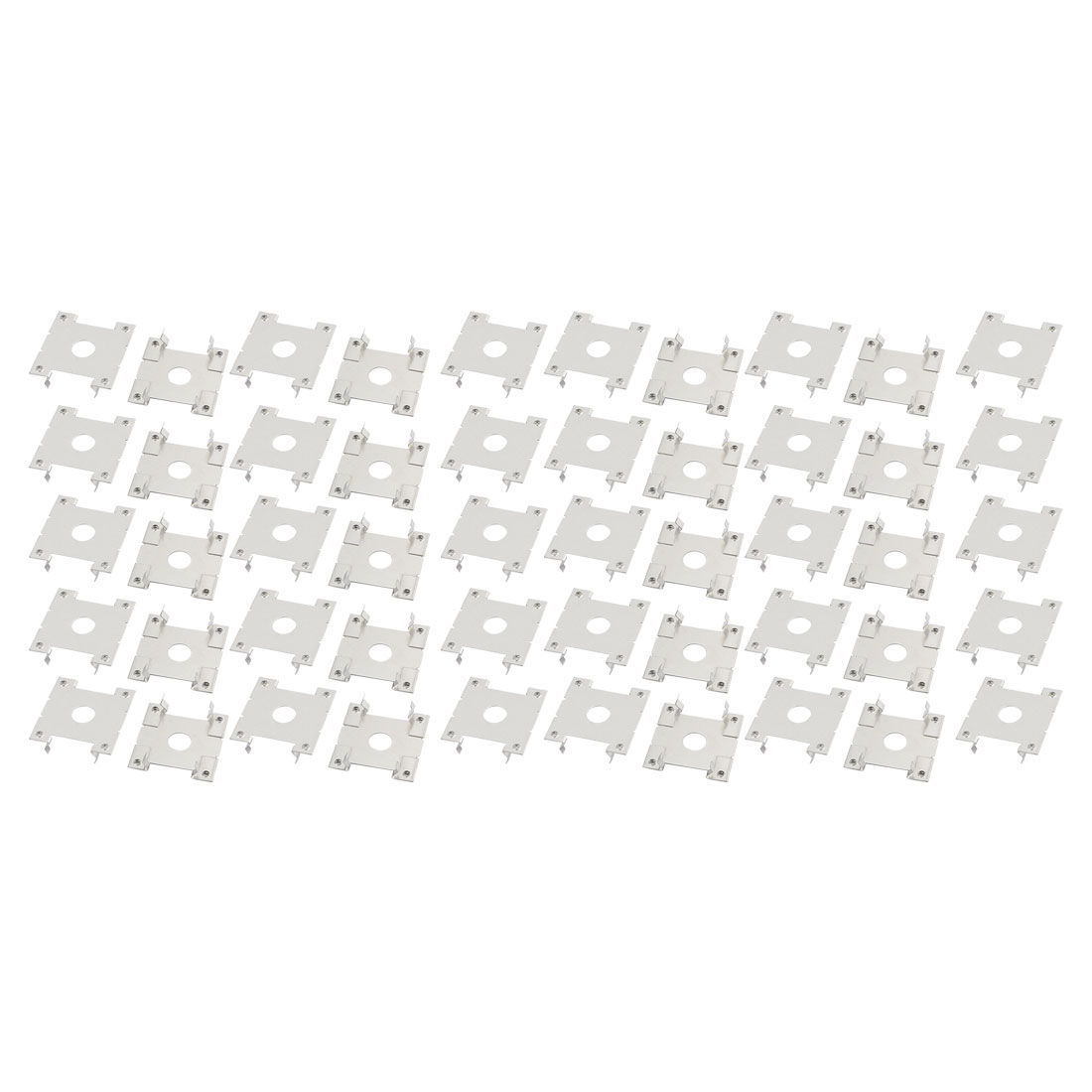 50pcs 32x30x8mm Stainless Steel Solar Conducting Strip Roof Mounting Bracket