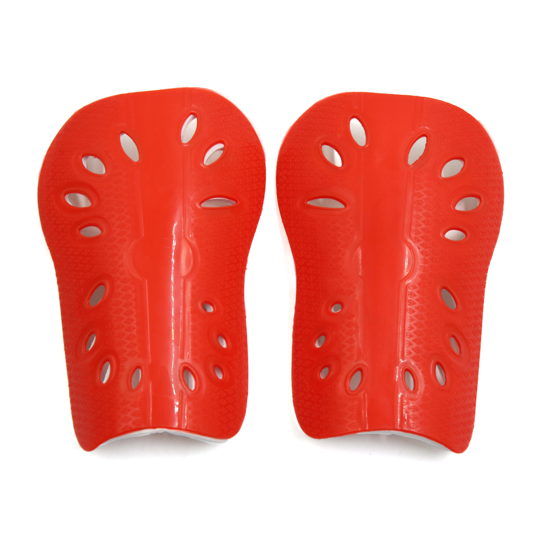 1 Pair Red Kids Football Outdoor Sports Shin Pad Protective Gear Legs Guards