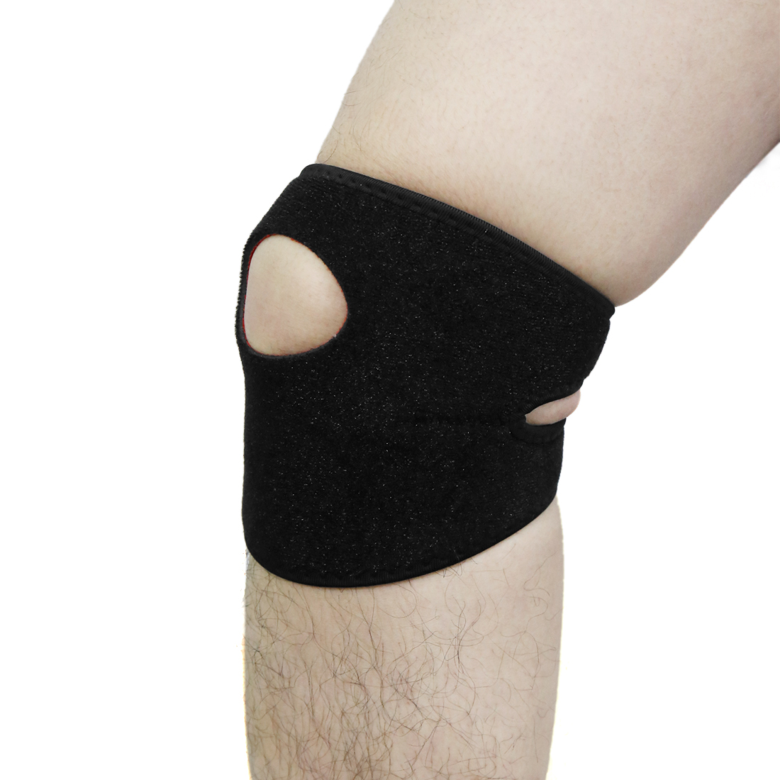 Black Nylon Adjustable Climb Ankle Support Foot Orthosis Brace Strap Stabilizer