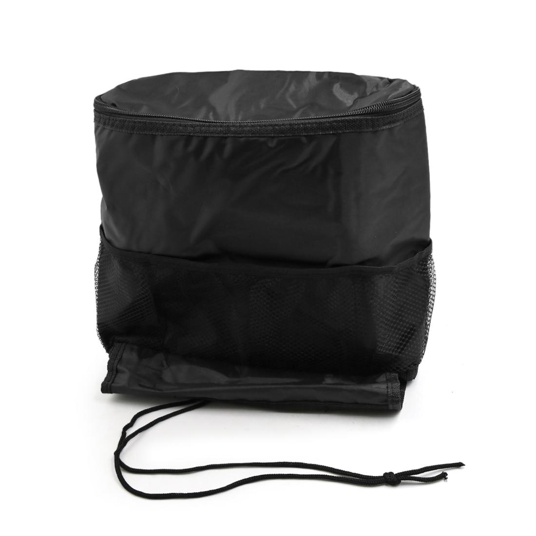 Car Black Seat Back Pocket Organizer Holder Storage Travel Hanging Bag
