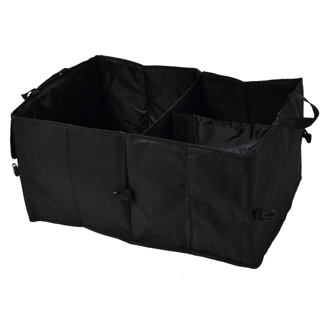 Black Car Boot Organiser Storage Bag Collapsible Foldable Pocket Tool Carrier