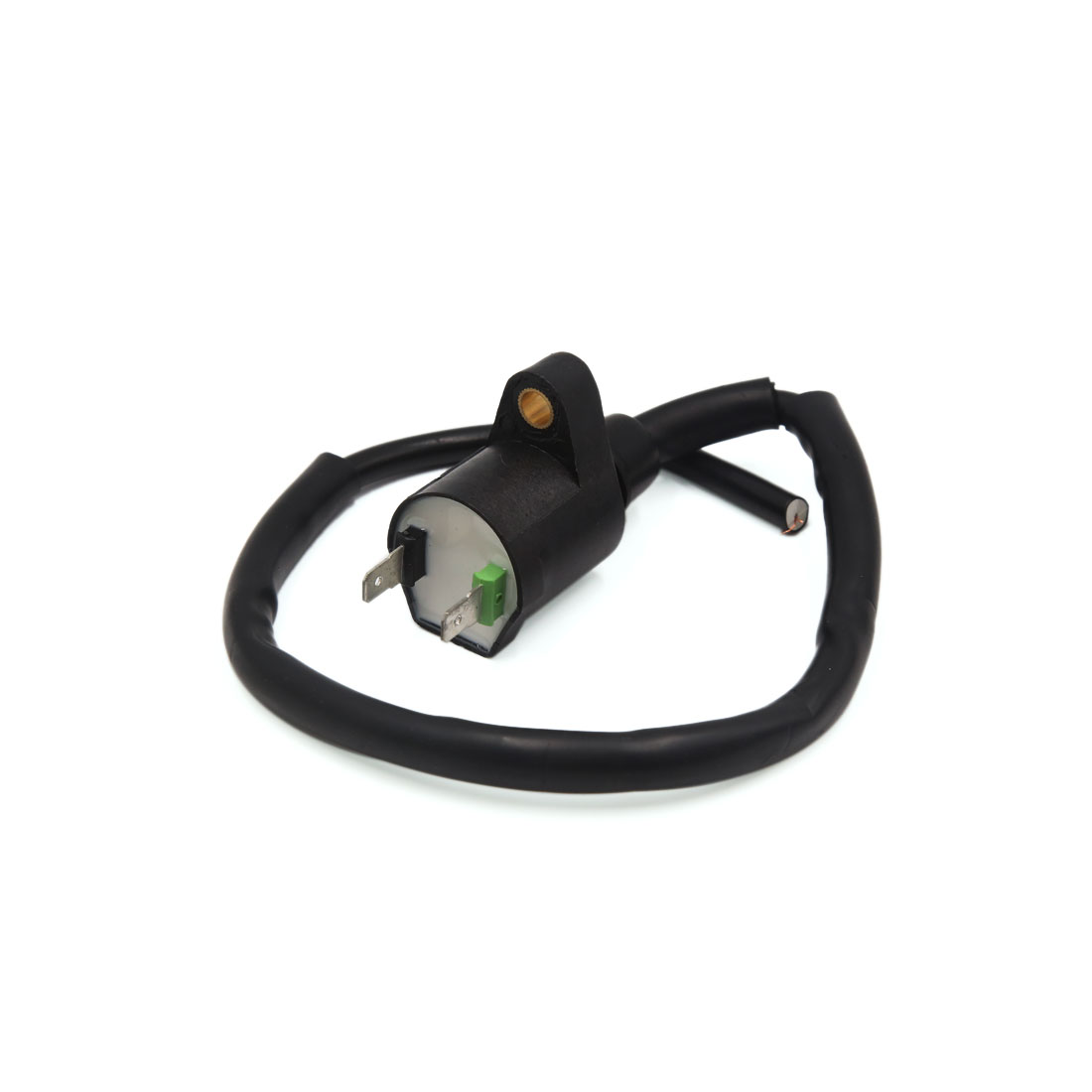 38cm Length Black Scooter Motorcycle Ignition Coil Wire Assembly for GY6 125