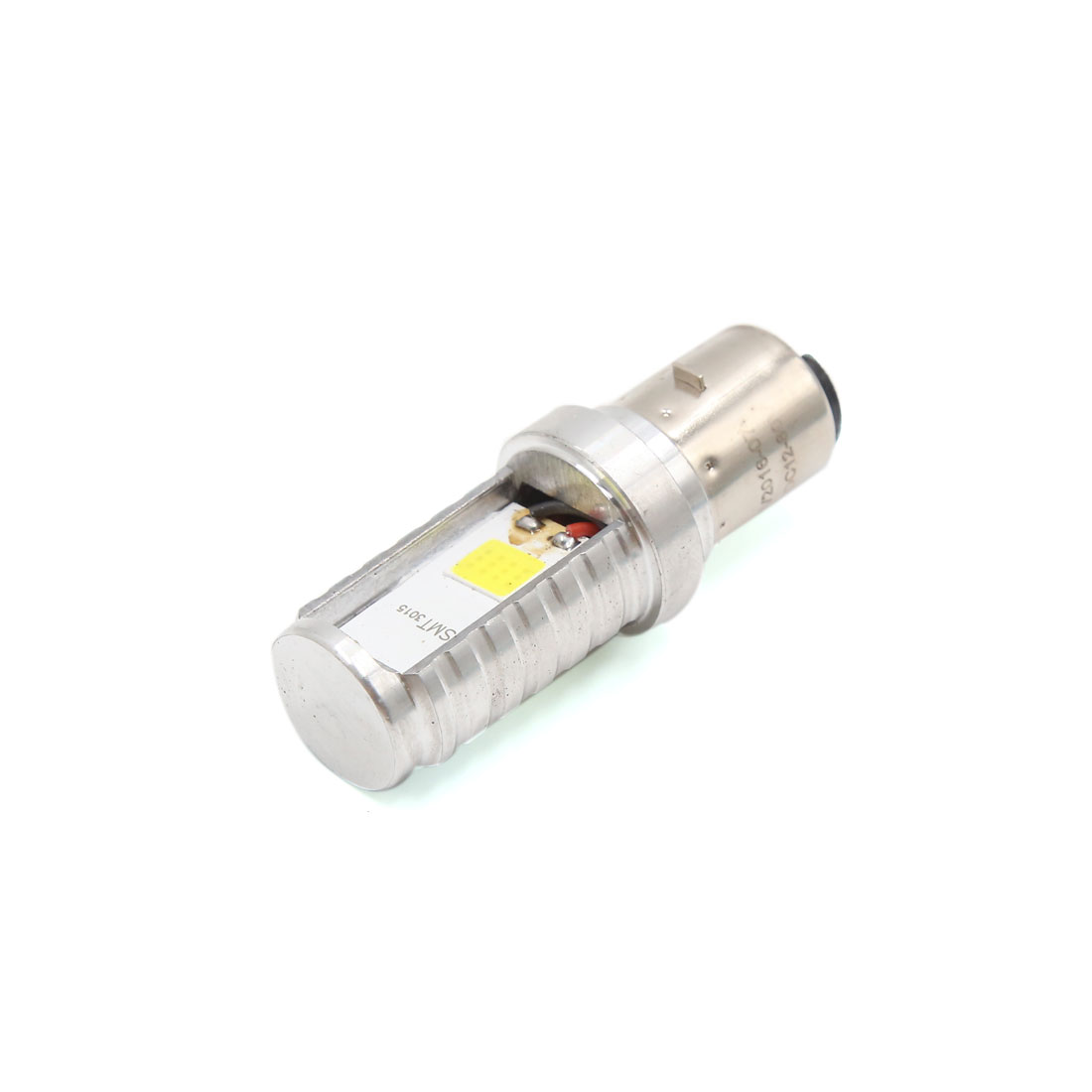 DC 9-80V 9W Dual Side White COB LED Motorcycle Headlight Spotlight Lamp Bulb