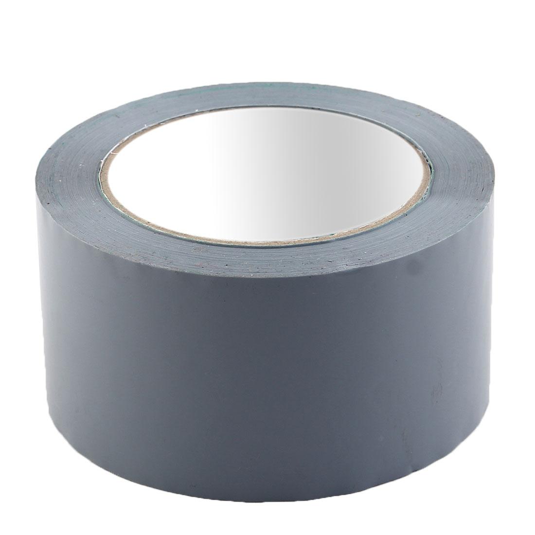Shipping PVC Box Carton Sealing Adhesive Tape Gray 2.4'' x 98.4 Yards(295.3 Ft)