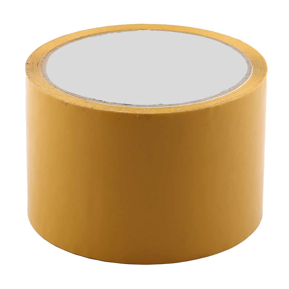 Shipping PVC Box Sealing Adhesive Tape Dark Yellow 2.4'' x 32.8 Yards(98.4 Ft)